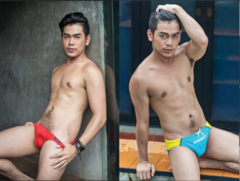 handsome pool boy thailand gay magazine Thai Puan 2