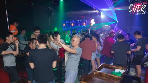 Cher Club - Gay Night Club in Chiang Mai crowded night