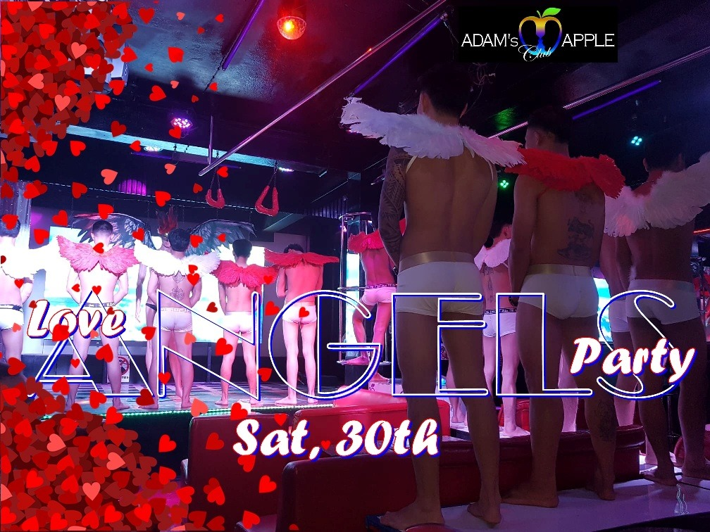 Love Angels Party at Adams Apple Club Chinag Mai