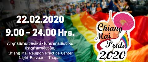 Chiang Mai Pride 2019 advert